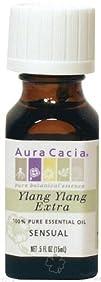 Aura Cacia  Essential Oil Sensual Ylang Ylang Extra  0.5 oz.