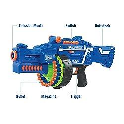 Zest 4 Toyz Blaze Storm Soft Bullet Gun