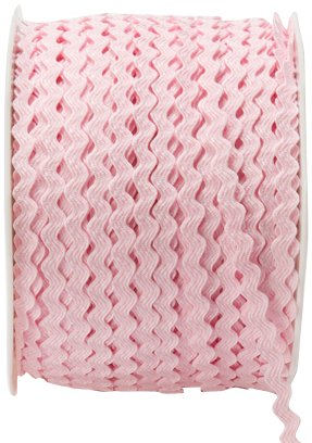 Find Discount May Arts 1/8-Inch Wide Ribbon, Pink Ric Rac