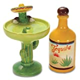 Tequila & Margarita Salt & Pepper Shaker S/P Set