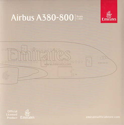 Gemini Jets Emirates A380-800 'Paris St. Germain' Airplane Model (1:400 Scale) (Emirates A380 Model compare prices)