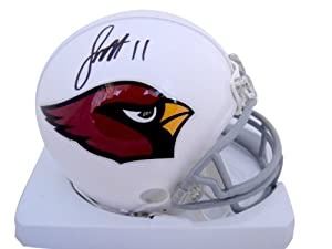 Larry Fitzgerald Arizona Cardinals Signed Autographed Mini Helmet Authentic Certified...