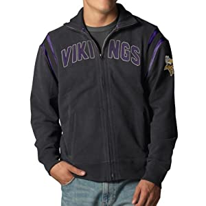 NFL Minnesota Vikings Mens Heisman Track Jacket by