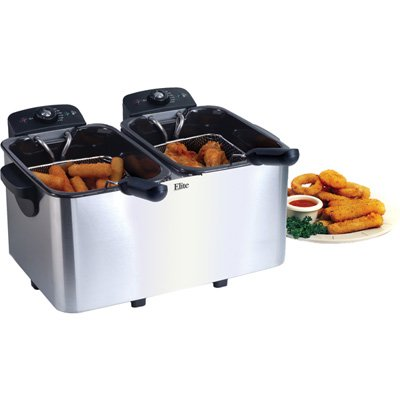 Maxi-Matic EDF-3060 Elite Platinum Stainless-Steel 6-Quart Deep Fryer