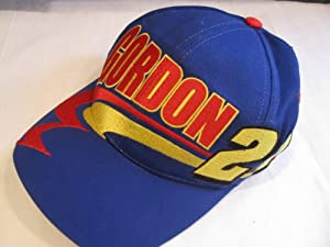 Jeff Gordon #24 Dupont Motorsports With Red & Yellow Accents Hat Cap One Size... by Chase Authentics