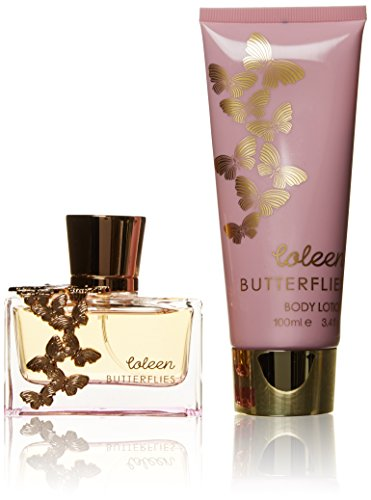 Coleen, Set da regalo Butterflies, incl. Eau de Toilette (50 ml) e Crema corpo (100 ml)