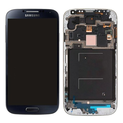 For Samsung Galaxy S4 Siv (Gsm Models - T-Mobile M919 At&T I337) Generic Oem Full Set [With Frame] Lcd Screen Replacement Digitizer Assembly Display Monitor Touch Panel Black + Free Repair Tool Kits [Ships From Usa]