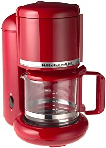 Cuisinart 4 Cup Coffee Maker In Red : Amazon.com: KitchenAid KCM055 4-Cup Ultra Coffeemaker, Empire Red: Drip Coffeemakers: Kitchen ...