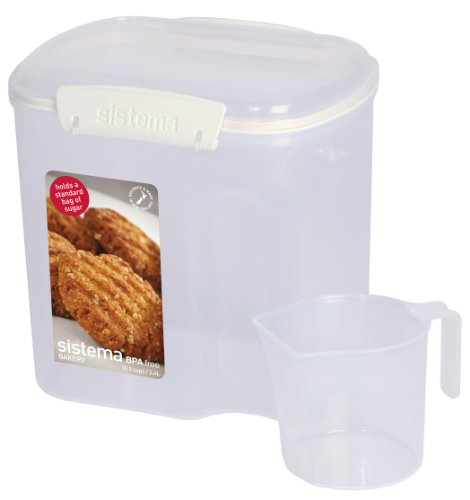 Sistema Klip It Bakery Container, 81-Ounce
