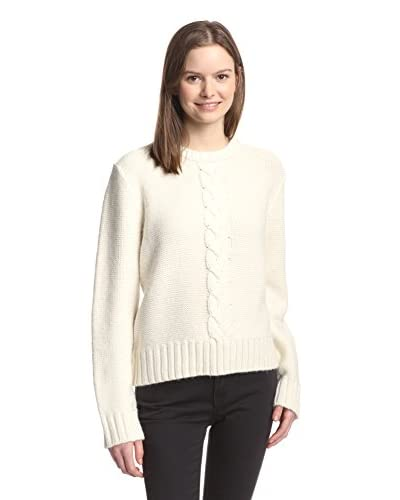 Kate Spade Saturday Women's Crewneck Big Cable Sweater