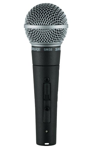 Shure SM-58 Wired Dynamic Microphone With Switch