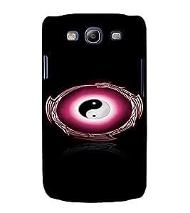 PrintVisa Peace Symbol 3D Hard Polycarbonate Designer Back Case Cover for Samsung Galaxy S3