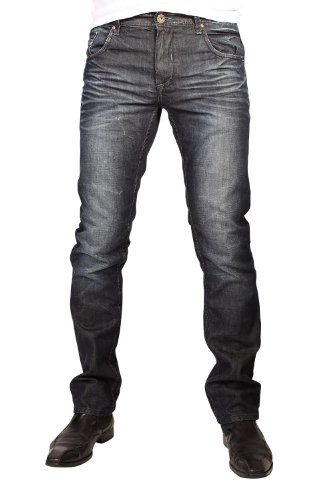 SHINE Original -  Jeans  - tapered - Uomo Michael-Wash 40W x 32L