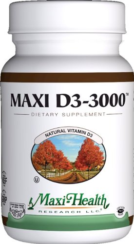 Maxi Health Natural Vitamin D3 -