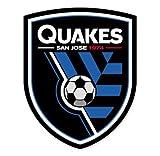"San Jose Earthquakes MLS - United States Football Soccer Futbol - Car Sticker - 5"""