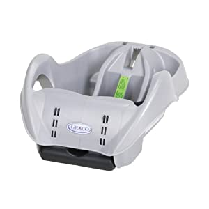 Graco SnugRide Classic Connect Infant Car Seat Base, Silver