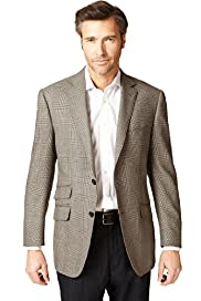 Sartorial Luxury Pure Wool Prince of Wales Checked Jacket
