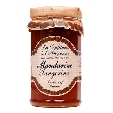 Tangerine Jam Andresy All natural French jam pure sugar cane 9 oz jar Confitures a l'Ancienne
