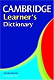 Cambridge Learner's Dictionary (0521543800) by Cambridge University Press