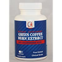 Green Coffee Bean Extract - Pure Extract, Clinical Grade (50% CLA) Natural Weight Loss