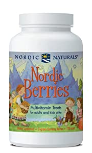 Nordic Naturals - Nordic Berries 120 chew [Health and Beauty]