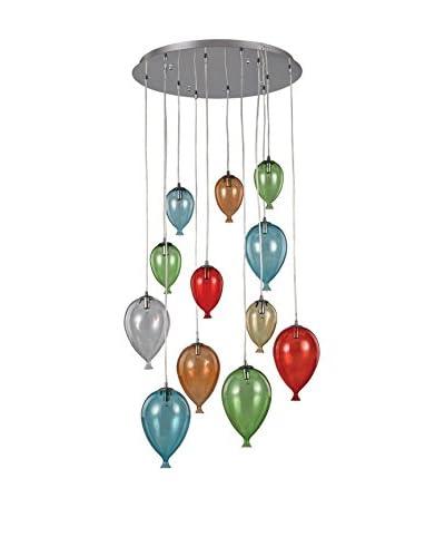Lampada A Sospensione Multicolore