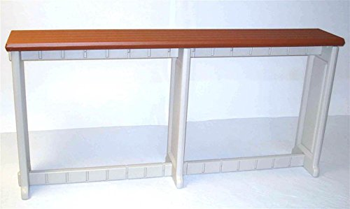 Leisure Accents Spa Bar and Counter, Redwood/Beige, 74 Inches Long by 36 Inches High (Hot Tub Bar compare prices)