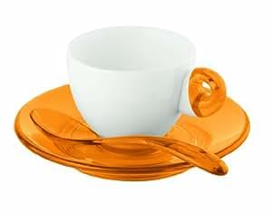 Guzzini Art & Café Tasse à expresso Orange Lot de 2