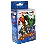 Marvel Comic Heroes Bandages with Infectiguard Plus 6 pack
