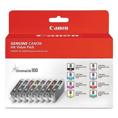 Canon CLI-8 8-Color Multipack Ink Tanks (Canon Color Ink 8 compare prices)