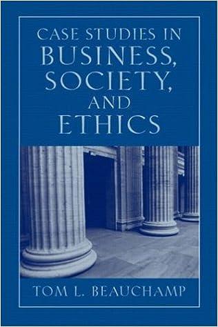 Essays on business ethics