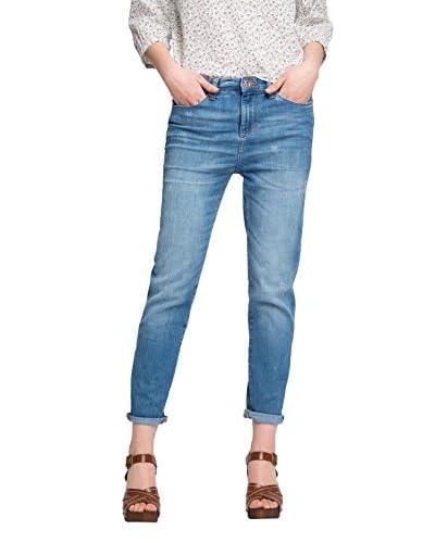 ESPRIT Jeans 046EE1B014 - dezenter Stickerei Blu W31L28