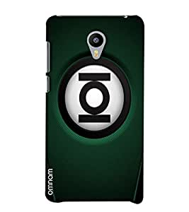 Omnam Ioi Ball With Green Base Printed Designer Back Cover Case For Meizu M2
