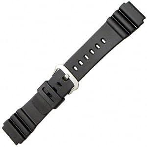 ec59eb3b343 Casio 22mm Black Resin-Marine Gear