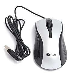 ENTER PS2 MOUSE-E-85S Silver