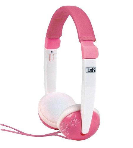 Kopfhörer für Kinder Sound - weiß/rosa