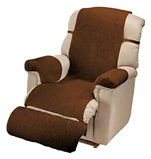 Miles Kimball Sherpa Recliner Cover by OakRidge ComfortsTM