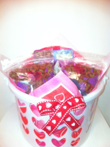 Cat Valentine's Day Gift Basket