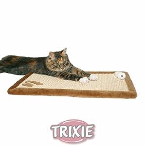 Trixie Tapis Greffoir Sisal/Peluche pour Chats