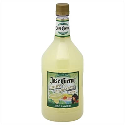 Jose Cuervo Zero Calories Classic Lime Light Non Alcoholic Margarita Mix, 59.2 Ounce -- 6 per case.