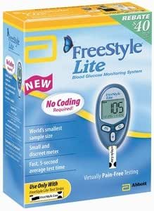 Amazon Com Freestyle Lite System Kit Abbott Diabetes
