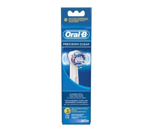 ORAL-B Precision Clean EB20 Ersatzbürsten Köpfe - Ersatzköpfe Für Elektrische Zahnbürsten