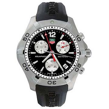 TAG Heuer Men's CAF1110.FT8010 Aquaracer 2000 Quartz Chronograph Watch