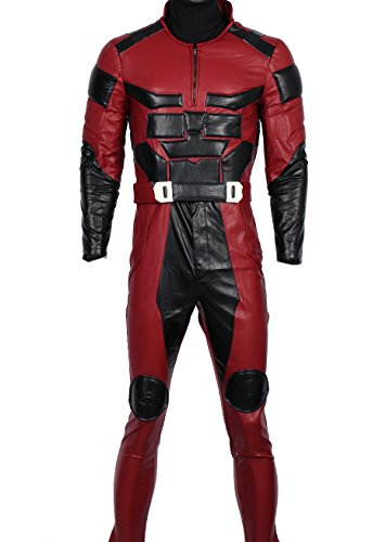 XCOSER DD Matt Costume Outfit for Adult Halloween Superhero Cosplay