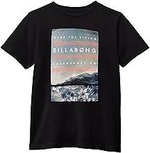 Billabong Agent T-Shirt manches courtes Garçon Noir FR : 14 ans (Taille Fabricant : 14)