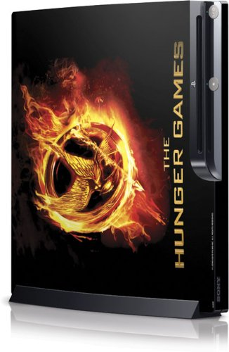 Skinit The Hunger Games Logo Vinyl Skin for Sony Playstation 3 / PS3 Slim (4th Gen)(160/250GB)