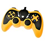 Deepon 2.4g Wireless Multi-card Double Vibration Gamepad Compatible Android Android Tv Set-top Boxes(yellow)