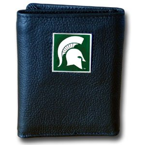 Michigan State Spartans Trifold Nylon Wallet in a Box - NCAA College Athletics Fan Shop Sports Team Merchandise