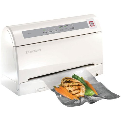 FoodSaver V3440 Vacuum-Sealing System with SmartSeal Technology, White ...