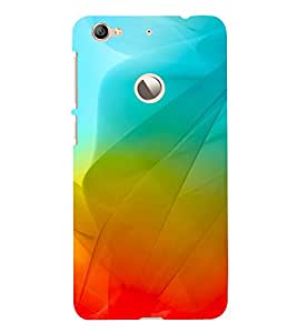 Colourful Fluidic Design 3D Hard Polycarbonate Designer Back Case Cover for LeEco Le 1s :: LeEco Le 1s Eco :: LeTV 1S